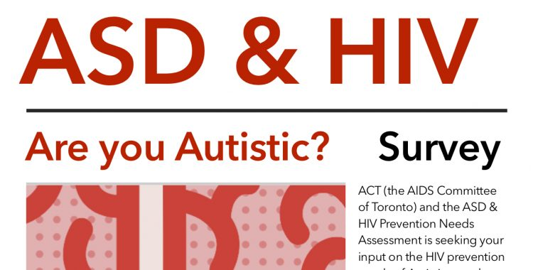 Research Survey: ASD and HIV Prevention Study
