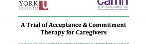 Research Study: A Trial of Acceptance & Commitment Therapy for Caregivers